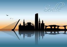 Seville skyline - Spain - vector illustration