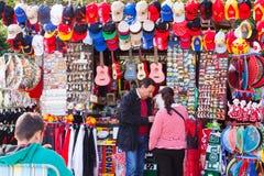Seville souvenirs near  Plaza de Espana Stock Photography