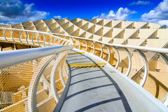 Seville, Spain, Andalusia - Metropol Parasol Royalty Free Stock Photo