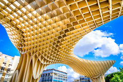 Seville, Spain, Andalusia - Metropol Parasol Royalty Free Stock Photography