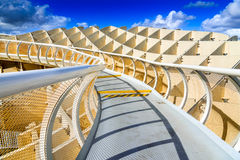 Seville, Spain, Andalusia - Metropol Parasol Stock Image
