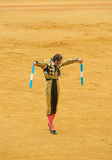 SEVILLE, SPAIN - April, 28: Matador Juan Jose Padilla at Maestra Stock Photos