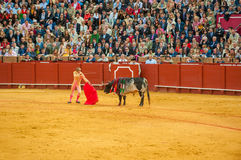 SEVILLE, SPAIN - April, 28: Matador Manuel Diaz el Cordobes at M Royalty Free Stock Image