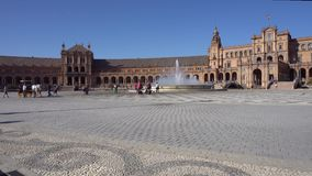 Plaza de Espagna stock footage