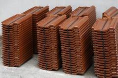 seville spain för tak för carmona fästningport tegelplattor Royaltyfri Foto