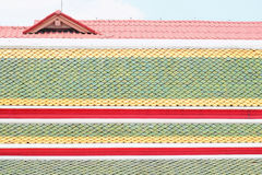 seville spain för tak för carmona fästningport tegelplattor arkivbilder