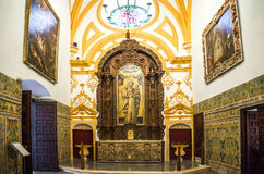Free SEVILLE, SPAIN - JUNE 4, 2014 Interior Of The Royal Alcazar In S. Royalty Free Stock Photo - 46228705