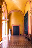 SEVILLE, SPAIN - JUNE 4, 2014 Interior of the Royal Alcazar in S. Royalty Free Stock Photo