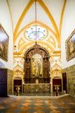 SEVILLE, SPAIN - JUNE 4, 2014 Interior of the Royal Alcazar in S. Stock Photos