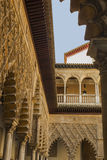 Detail of the Alcazar reales in Seville Stock Image