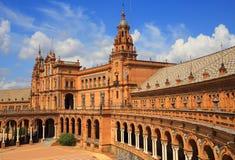 Seville, Spain, Plaza de Espana Stock Photos