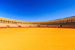 Seville, Spain. Plaza de Toros de la Maestranza (Bullring Stock Images