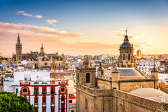 Seville, Spain Skyline Royalty Free Stock Photography