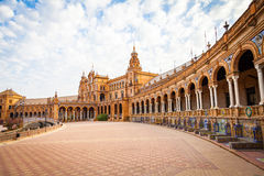 Seville Spain Square stock photos