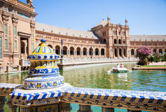 Seville Spain Square Stock Images