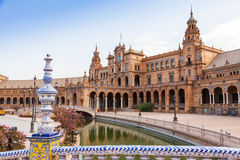 Seville Spain Square Royalty Free Stock Image