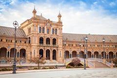 Seville Spain Square Stock Photo