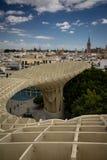 Seville Spanien, Andalusia - Metropol slags solskydd royaltyfri foto