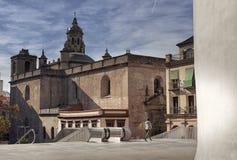 Seville, stary miasteczko, historyczni budynki Hiszpania fotografia stock