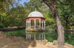 Seville - summer house Maria Luisa park Royalty Free Stock Photo