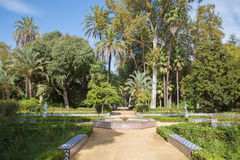 Seville - The summer house Maria Luisa park Royalty Free Stock Image