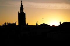 Seville sunset Stock Photography