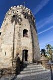 Seville Torre del Oro Royalty Free Stock Photo