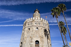 Seville Torre del Oro Royalty Free Stock Image