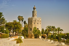 Seville, Tower of gold Royalty Free Stock Photo