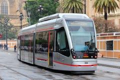 Seville tram Stock Image