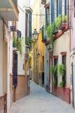 Seville ulica Zdjęcia Stock