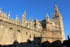 Seville. View of Seville in Andalusia in southern Spain Royalty Free Stock Photo