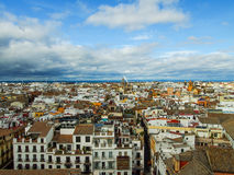Seville View. Seville panoramic view from Giralda Stock Images