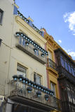 Sevillian Haus Stockfotografie