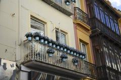 Sevillian huis Stock Afbeelding