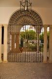 Sevillian terras Stock Foto's