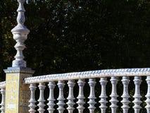 Sevillla, Испания, 01/02/2007 Квадрат королевского дворца Мост стоковые изображения