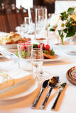 Seving table Royalty Free Stock Photo