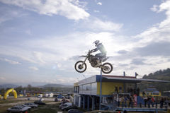 SEVLIEVO MOTOCROSS-919-МХ1 Royalty Free Stock Photos