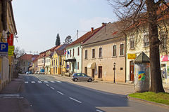 Sevnica old town Royalty Free Stock Image