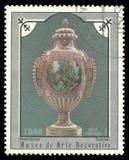 Sevres-Porzellan-Vase lizenzfreie stockfotos