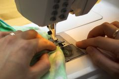 Sew Royalty Free Stock Images