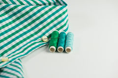 Sew shirt Stock Photo