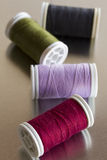 Sew thread rolls Royalty Free Stock Photos