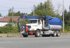 Sewage Cleaning Vehicle Stock Image