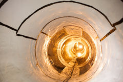 Sewage collector pipe. Inside of sewage collector pipe Royalty Free Stock Photos