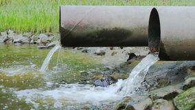 Sewage or domestic waste water or municipal waste water