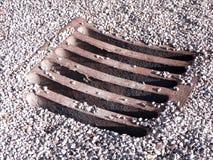 Sewage manhole Stock Images