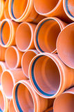 Sewage pipes Stock Images