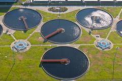Sewage plant Stock Photo